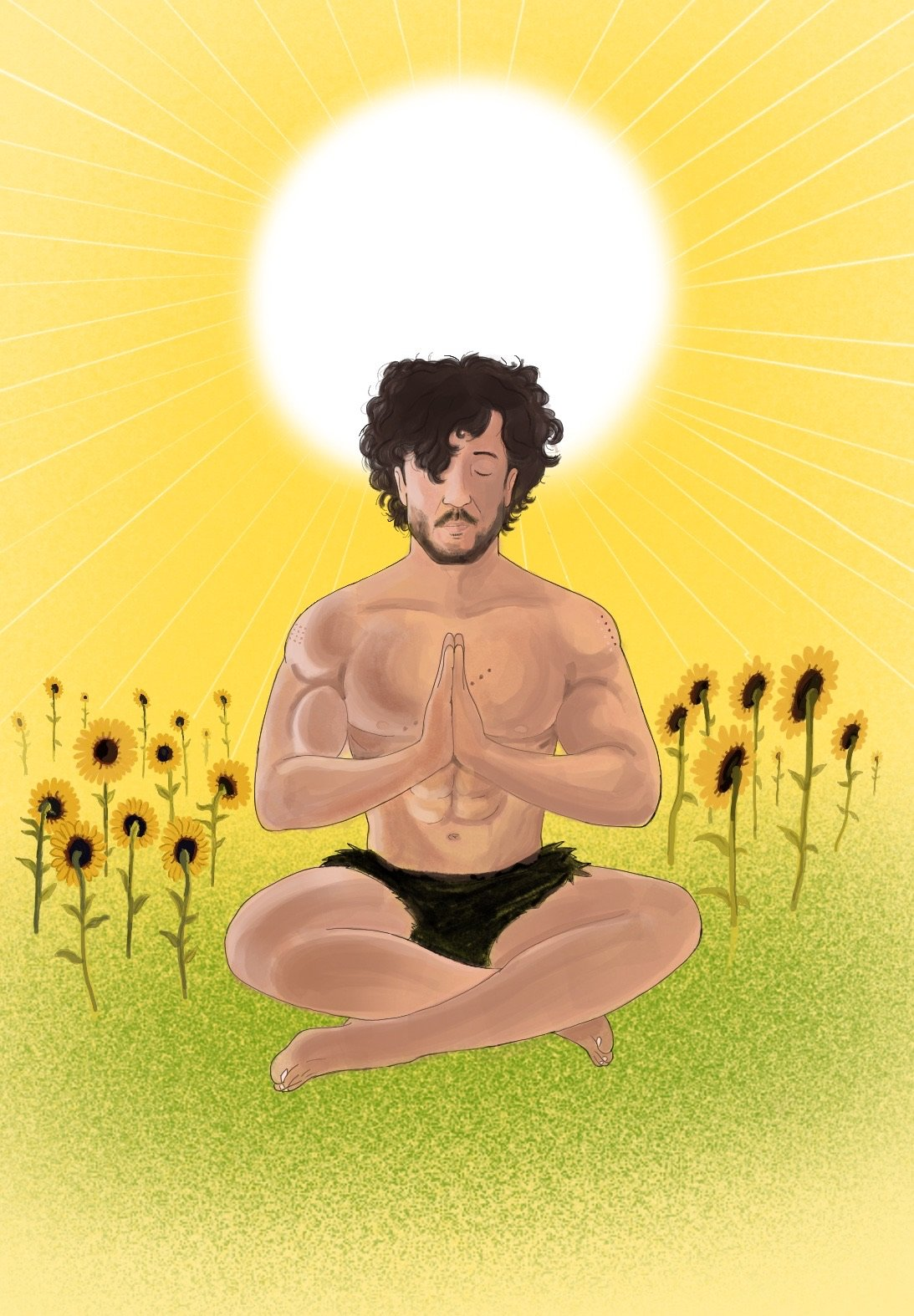 Illustratie voor Nick Huiberts - Holistic Health Practitioner